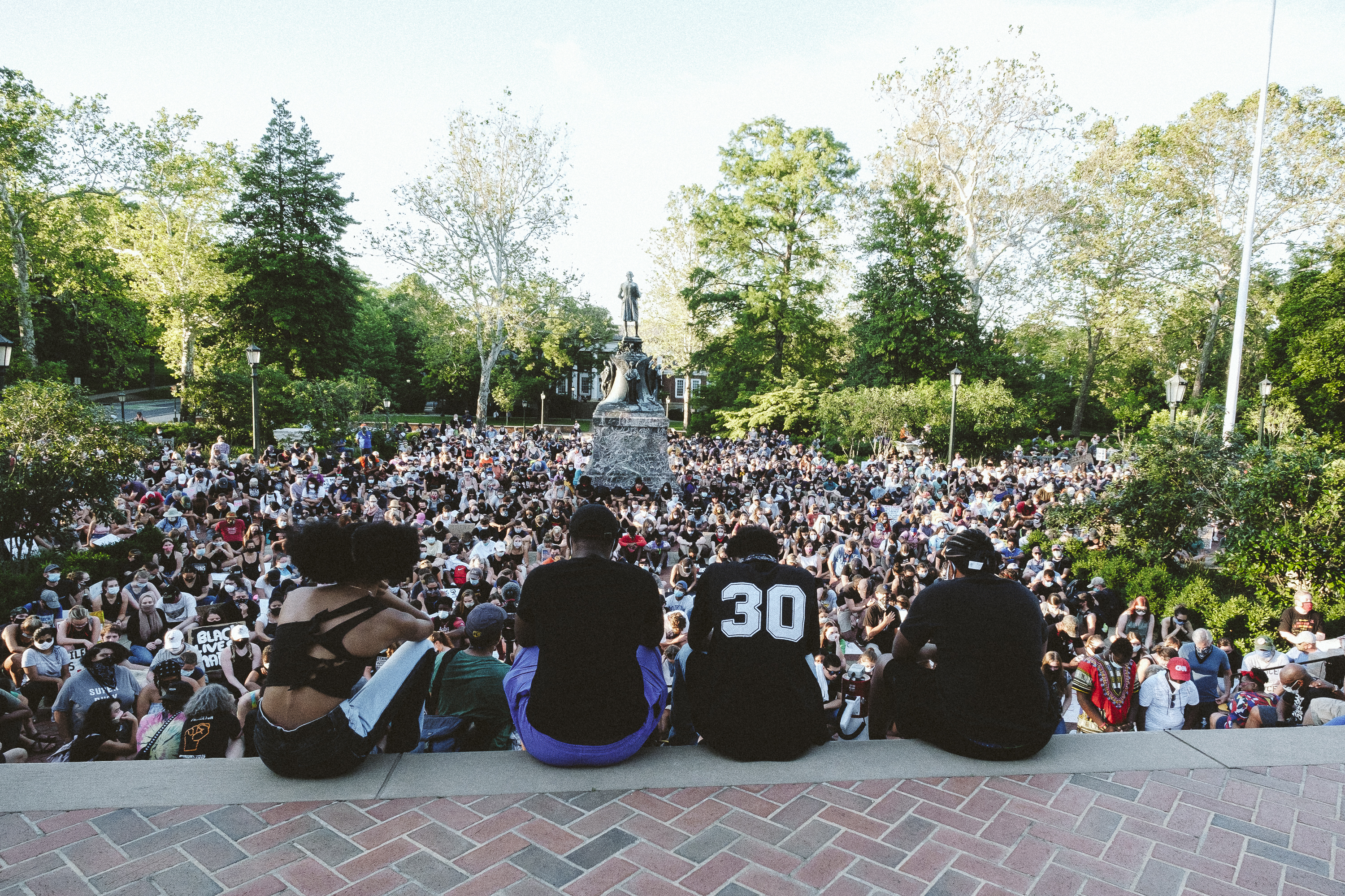 image of protest at UVA #3